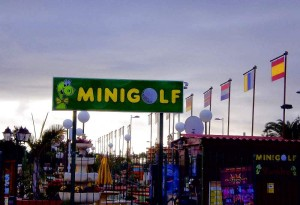 Minigolf am Yumbocenter